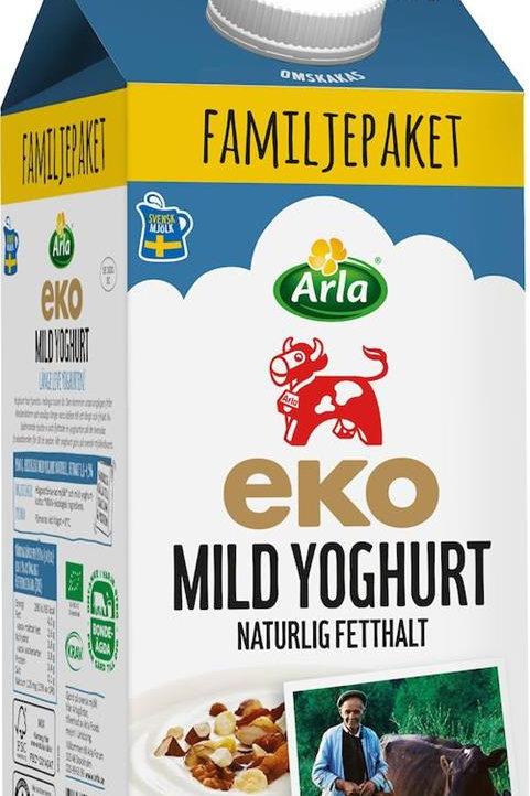 Yoghurt naturell mild EKO