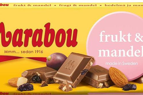 Frukt & Mandel chokladkaka