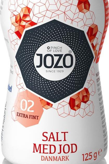 Extrafint salt 125G