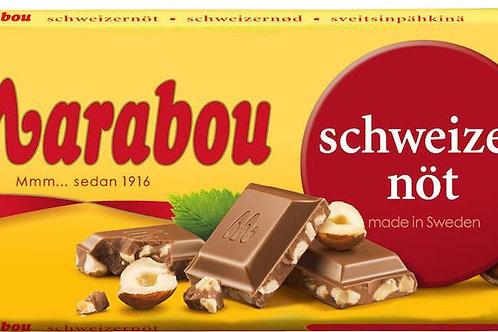 Schweizernöt Chokladkaka