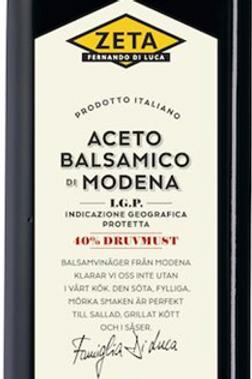 Balsamvinäger extra lagrad från Modena