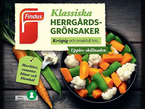 Herrgårdsgrönsaker