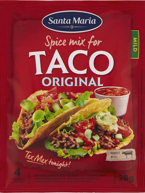 Taco Spice Mix påse