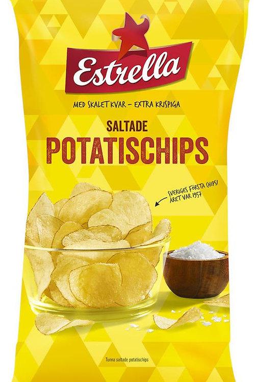 Lättsaltade Potatischip