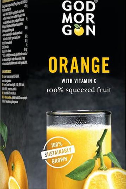 Apelsinjuice  Godmorgon