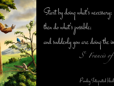 Wise Words From St. Francis and Advice I'd Give a Younger Me.