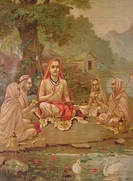 Adi Shankaracharya by Raja Ravi Varma