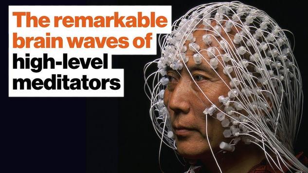 The Remarkable Brain Waves of High-Level Meditators