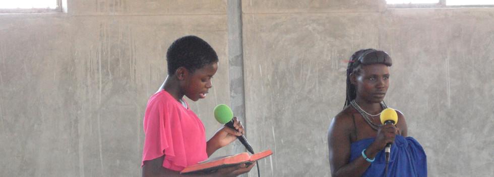 Junge Predigerinnen