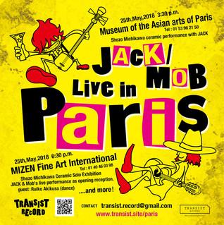 JACK / MOB LIVE in Paris