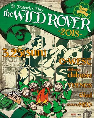 "Novem ""THE WILD ROVER 2018"" 出演!"