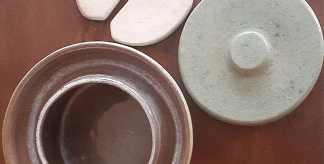 VASIJA FERMENTADORA de cerámica