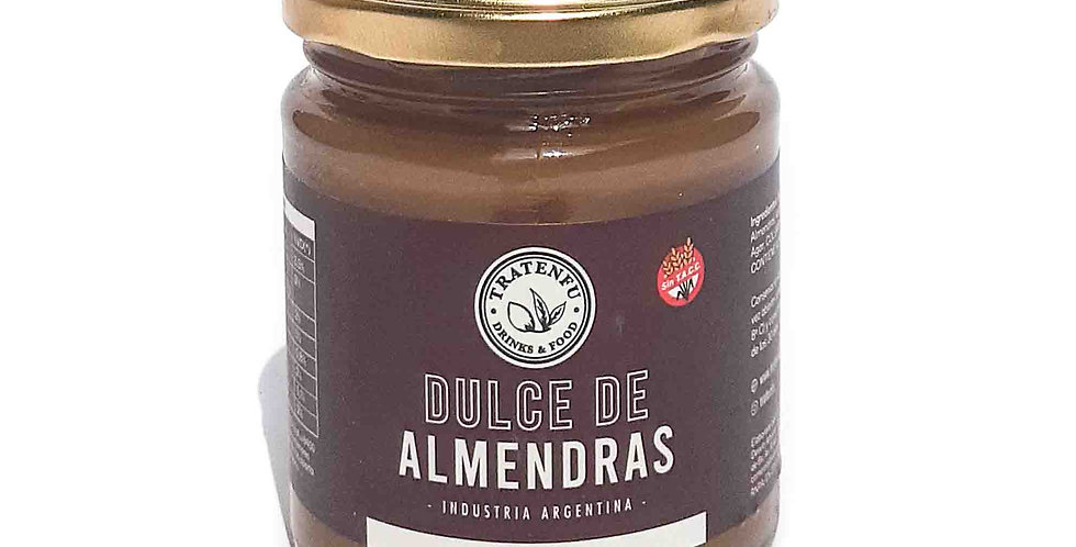 DULCE DE ALMENDRAS Tratenfu x 220 grs
