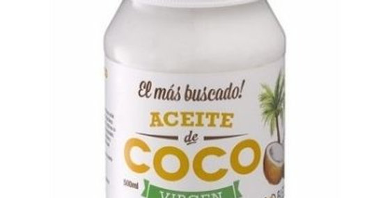 ACEITE DE COCO VIRGEN God Bless you 500ml