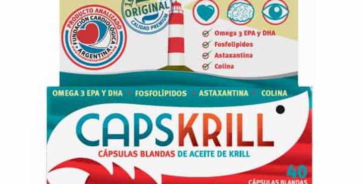CAPSKRILL Aceite de Krill x 40 comp