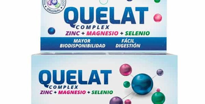 QUELAT COMPLEX Zinc+Magnesio+Selenio x 30 comp