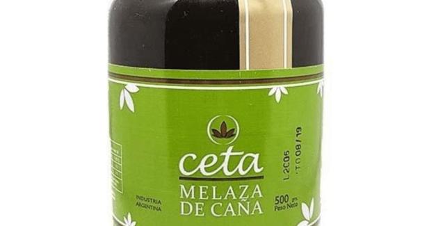 MELAZA DE CAÑA CETA, Orgánica x 500 Gr