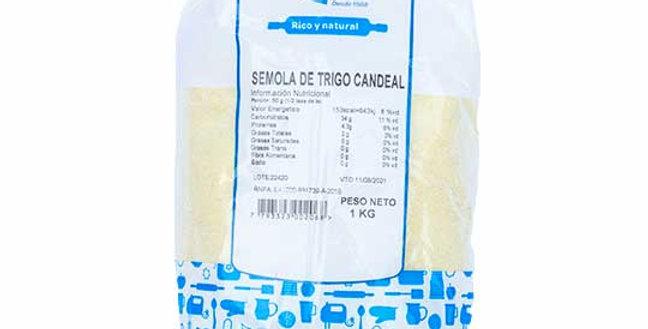 SEMOLA DE TRIGO CANDEAL x1kg