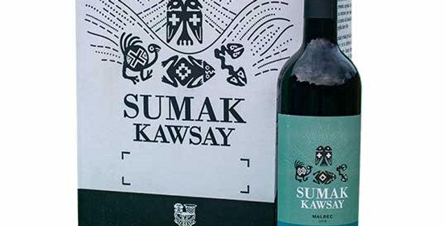 VINO  Malbec Sumak Kawsay x 750cc