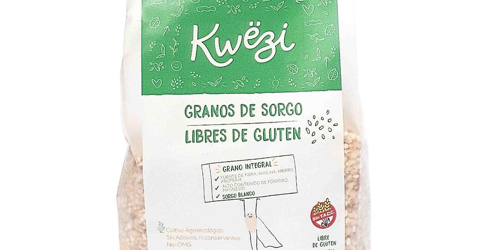 GRANOS DE SORGO AGROECOLOGICOS Kwëzi x 500 grs