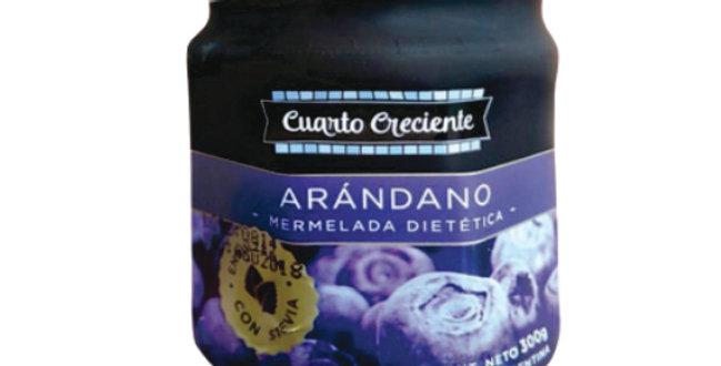 MERMELADA DE ARANDANO Cuarto Crecientes/ Azúcar 330g