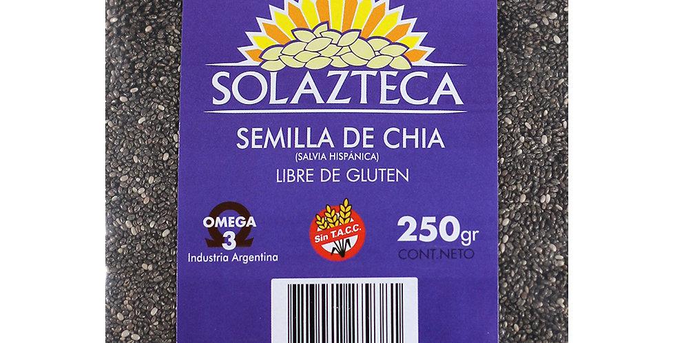 SEMILLAS  CHIA x 250 grs. Sol Azteca