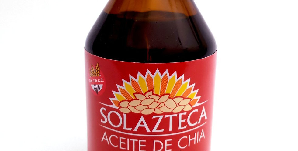 ACEITE CHIA - Sol Azteca 150 cc. Fco vidrio