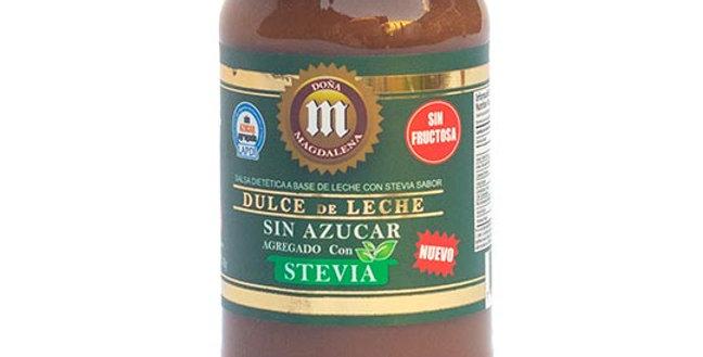 DULCE DE LECHE c/stevia 400g
