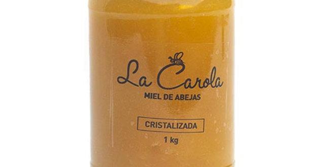 MIEL CRISTALIZADA La Carola x 1 kg