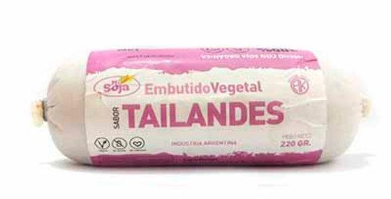 TAILANDES embutido vegetal Mi Soja x 220 grs