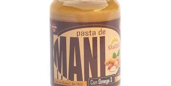 PASTA DE MANI c/ OMEGA 3 - Sol Azteca x 360 gr