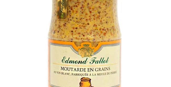 MOSTAZA EN GRANO AL VINO BLANCO Edmond Fallot 210 g