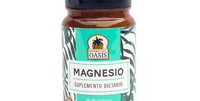 MAGNESIO-SUPLEMENTO DIETARIO Hierbas del Oasis 60 comprimidos