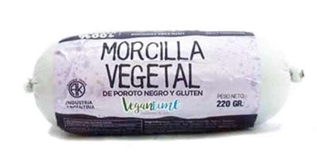 MORCILLA embutido vegetal Mi Soja x 220 grs