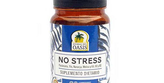 NO STRESS-SUPLEMENTO DIETARIO Hierbas del Oasis 60 comprimidos