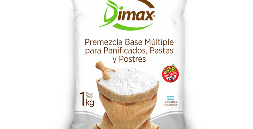 PREMEZCLA SIN TACC Dimax 1Kg