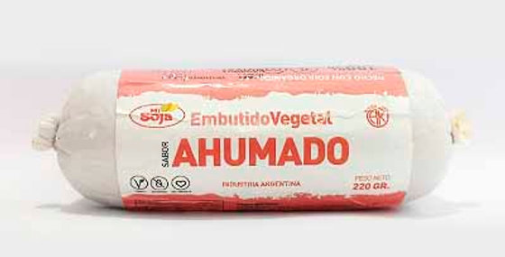 AHUMADO embutido vegetal Mi Soja x 220 grs