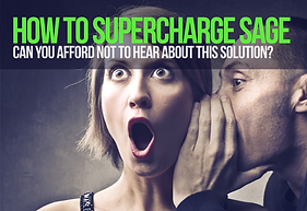 Supercharge your Sage 50 with Excel2Sage or Mobile2Sage