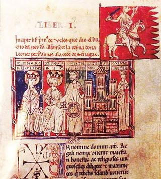 Donación del Castillo de Uclés a la Orden de Santiago - Tumbo menor de Castilla
