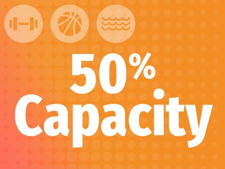 50% Capacity