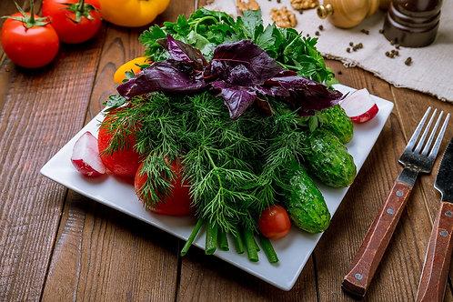 Ассорти из свежих овощей (350гр.)
