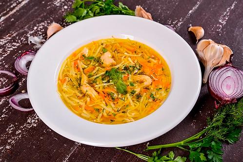 Куриный суп с лапшой (350гр.)