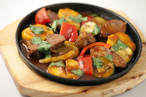 Жаркое из баранины с овощами (350гр.)