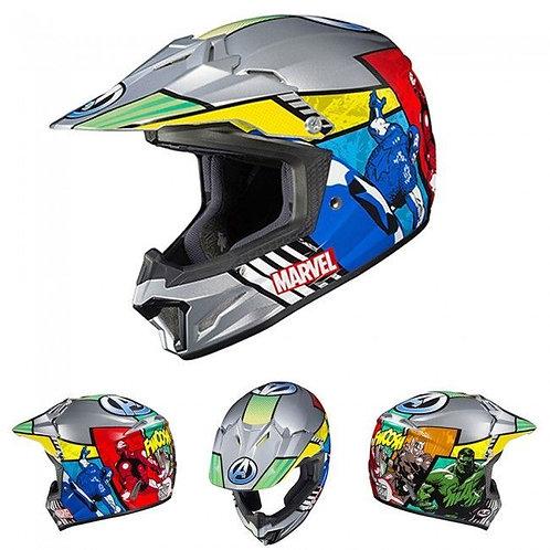 HJC CL-XY II Youth MX Helmet Avengers MC21