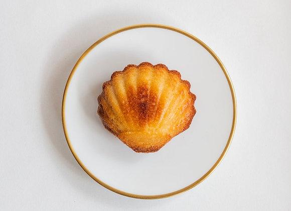 Coffret Métal Madeleines Gourmandes Vanille Intense x8