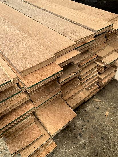 ไม้ผนัง โอ๊คปิดผิวบนไม้อัด (Oak+Plywood  Wall)