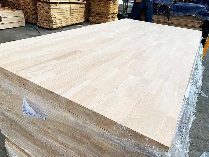 ไม้ประสาน ยางพารา AA-AB Grade, BUTT joint (Rubber wood board)