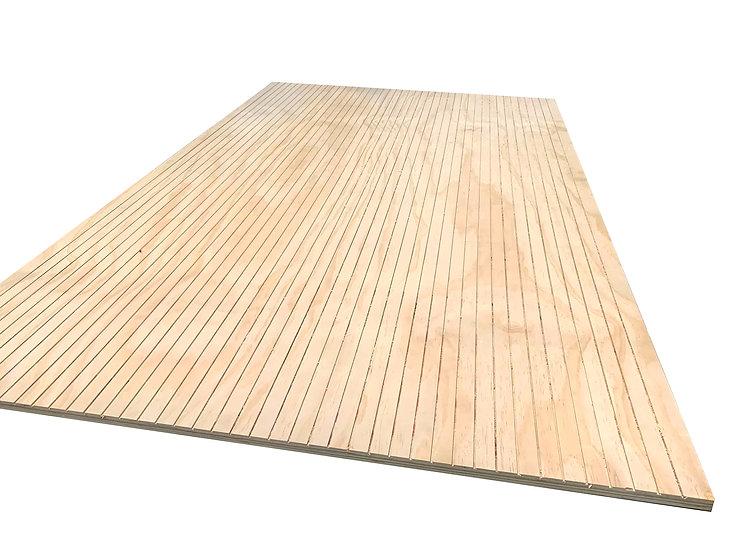 ไม้อัด ลายไม้สนนิวซีแลนด์ CNC ร่อง3mm