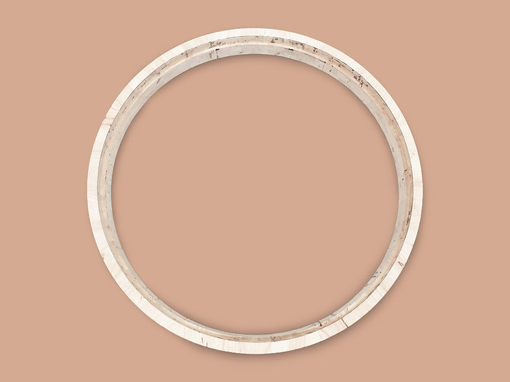 Ring Frame (Rubber wood) วงกบไม้ยางพารา รูปวงแหวน