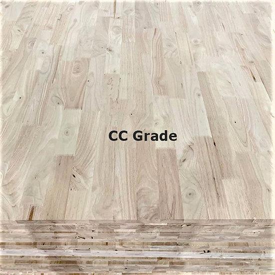 ไม้ประสาน ยางพารา CC-Grade, Finger joint (Rubber wood board)